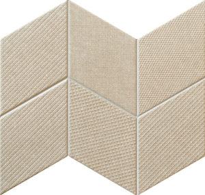 Mozaika ścienna Tubądzin House of Tones beige 22,8x29,8cm