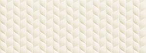 Płytka ścienna Tubądzin House of Tones white B STR 32,8x89,8cm