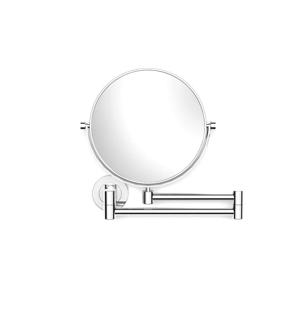 Lusterko kosmetyczne proste Stella powiększ. 5X, uchylne, podwójne ruchome ramię Stella chrom 22.01150 _