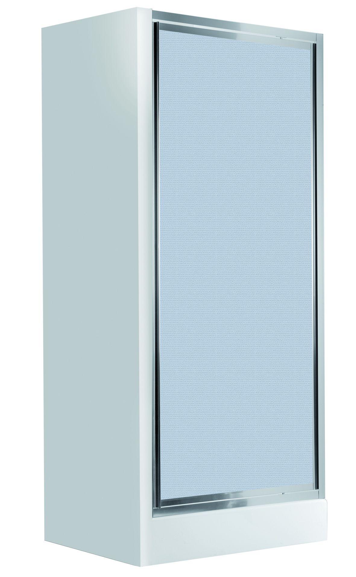 Deante Flex Drzwi wnękowe uchylne 90 cm, szkło szronione KTL_611D