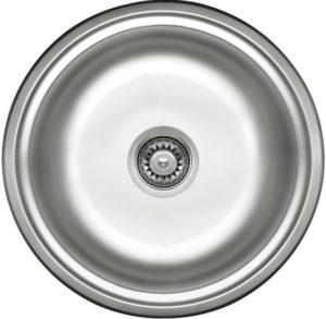 Deante Twist Zlewozmywak 1-komorowy okrągły bez ociekacza - dekor ZHC_3803