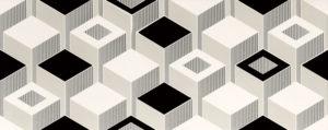 Dekor ścienny Tubądzin Colour 4 29,8x74,8 cm