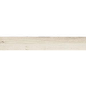 Płytka podłogowa deskopodobna Tubądzin Wood Craft white STR 119,8x19 cm