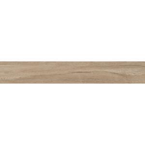 Płytka podłogowa deskopodobna Tubądzin Wood Cut natural STR 149,8x23 cm