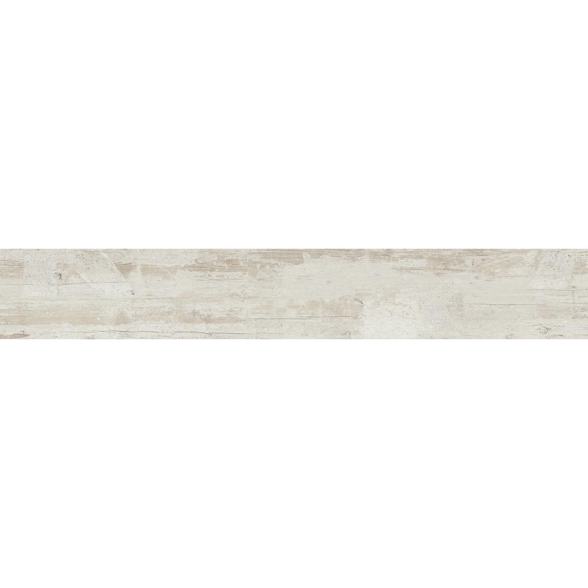 Płytka podłogowa deskopodobna Tubądzin Wood Work white STR 149,8x23 cm