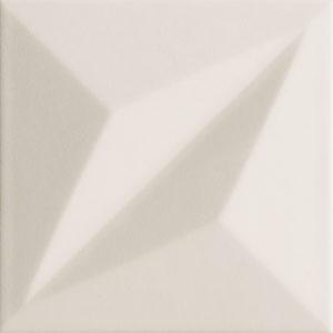 Płytka ścienna Tubądzin Colour grey STR 1 14,8x14,8 cm