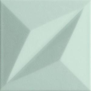 Płytka ścienna Tubądzin Colour mint STR 1 14,8x14,8 cm