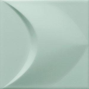 Płytka ścienna Tubądzin Colour mint STR 2 14,8x14,8 cm