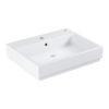 Zdjęcie Cube ceramika, umywalka wisząca, 60 cm 3947300H