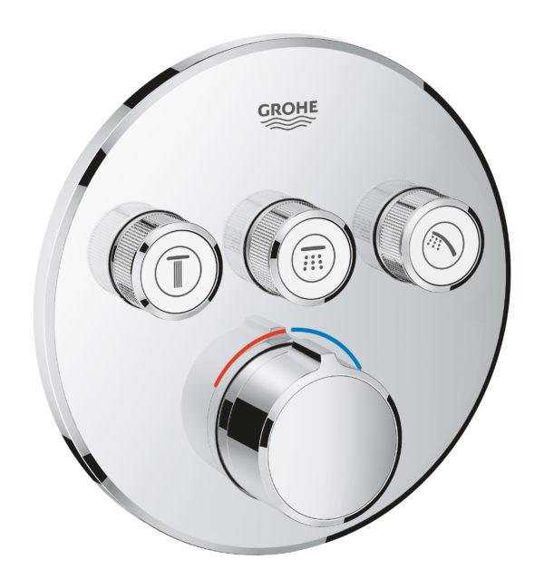 Zdjęcie GROHE SmartControl – podtynkowa bateria do obsługi 3 wyjść wody chrom 29146000