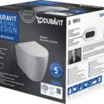 Zestaw WC wiszący Compact ME by Starck Duravit Rimless 45300900A1