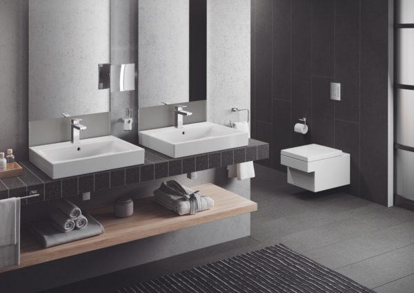Zdjęcie GROHE Cube Ceramic – miska WC wisząca biała 3924500H