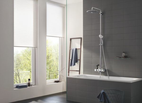 Zdjęcie GROHE Euphoria SmartControl 260 Mono – termostatyczny system prysznicowy chrom 26510000 .