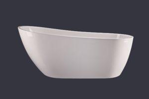 Wanna wolnostojąca Emporia Mega-N S 1520x760x720 mm ze zintegrowanym przelewem WS205-1520