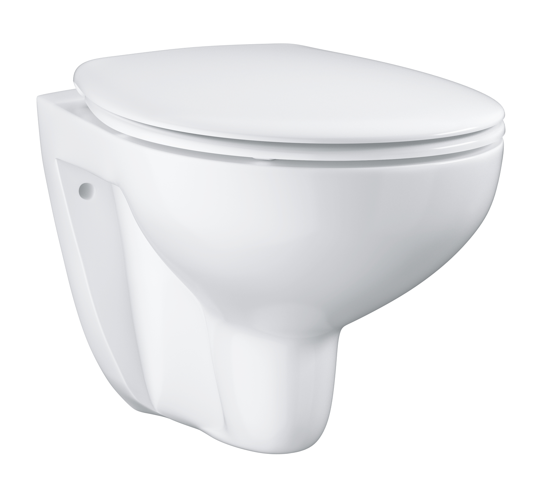 GROHE Bau Ceramic - miska WC wisząca z deską wolnoopadającą 39351000