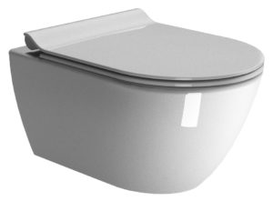 Miska wisząca WC bezrantowa GSI Pura 50x36 cm 881611
