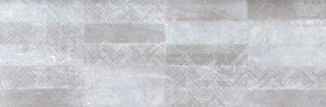 Płytka ścienna Azteca Ground Decor Grey 30x90 cm