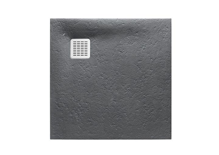 Brodzik kwadratowy Roca Terran 900x900 mm Syfon w kpl. Szary łupek AP0338438401200