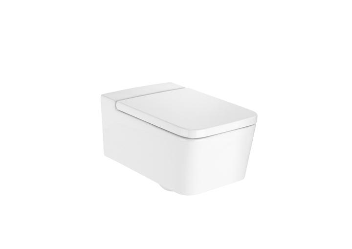 Miska WC podwieszana Roca Inspira Square Rimless 56x37cm A346537000