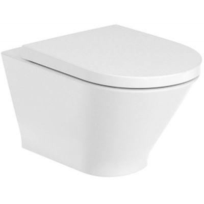 Miska WC podwieszana Roca Gap Round Rimless 540 A3460NL000