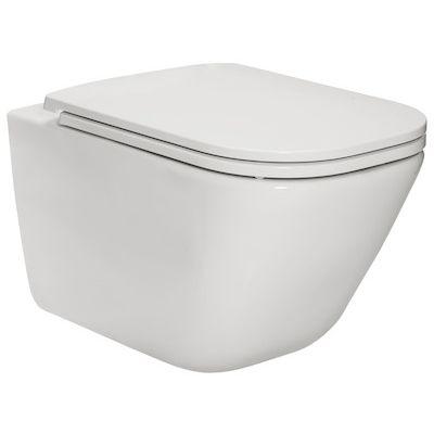 Miska WC podwieszana Roca Gap Square Rimless 540 A34647L000