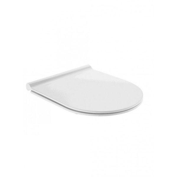 Zdjęcie Deska WC slim wolnoopadająca Roca Nexo Gap Meridian łatwowypinalna A801C4200U