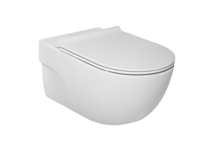 Miska WC podwieszana  Roca Meridan Rimless A34624L000