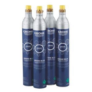 GROHE Blue Zestaw startowy butli CO2 425 g (4 sztuki) 40422000