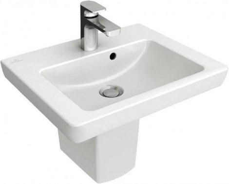 Umywalka mała Villeroy & Boch Subway 2.0 45x37 cm, biała Weiss Alpin 73154501