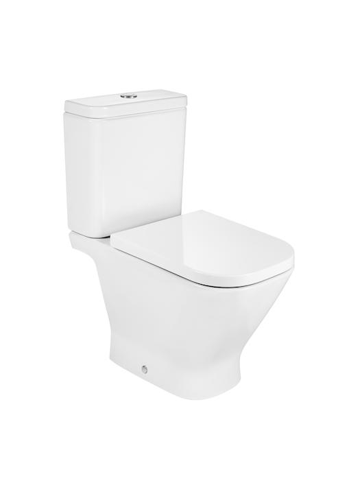Miska WC do kompaktu o/poziomy Roca Gap 36,5x65cm Maxi Clean A34247700M