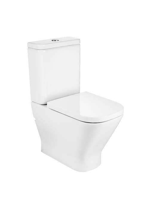 Miska WC bez kołnierza do kompaktu o/uniwersalny Roca Gap 36,5x60cm Rimless Maxi Clean A34273700M