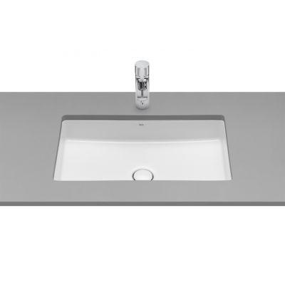Umywalka podblatowa Roca Inspira 60.5x39 cm Square FINECERAMIC® A327535000