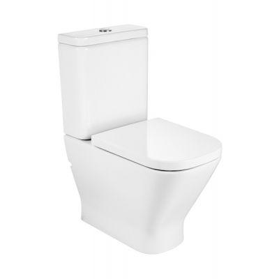 Miska WC o/podwójny do kompaktu Roca Gap 36,5x60x79 cm WC Rimless (montaż do ściany)  A34273700H