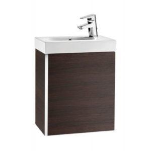 Zestaw łazienkowy Roca Mini 45x25 cm Unik z drzwami (szafka+umywalka), Wenge tekstura A855873154