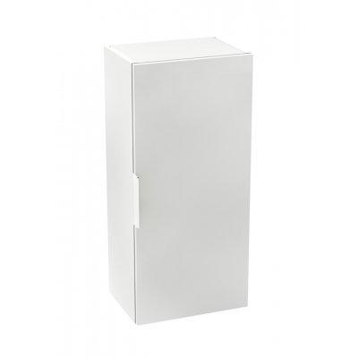 Kolumna niska z drzwiami Roca Suit 75x34,5 cm, Biały połysk A857049806