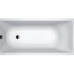 Wanna akrylowa prostokątna Emporia Arna Edge 160x70 cm z niskim rantem