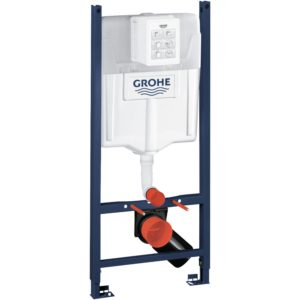 GROHE Stelaż do WC podtynkowy Rapid SL 2w1 500 x 1130 x 230 mm chrom w komplecie: kątowniki mocujące 39069000