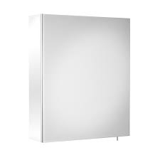 Szafka łazienkowa z lustrem Roca Debba / Luna 40x60 cm, Biały połysk A856839806
