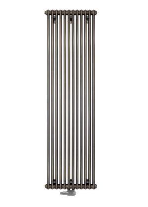 Grzejnik Charleston Zehnder 180x37 cm Technnoline 0325 podłączenie środkowe 3180charleston180x37