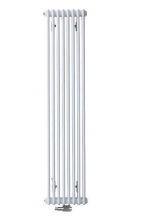 Grzejnik Charleston Zehnder 180x37 cm Biały Ral 9016 podłączenie środkowe 2180charleston180x37