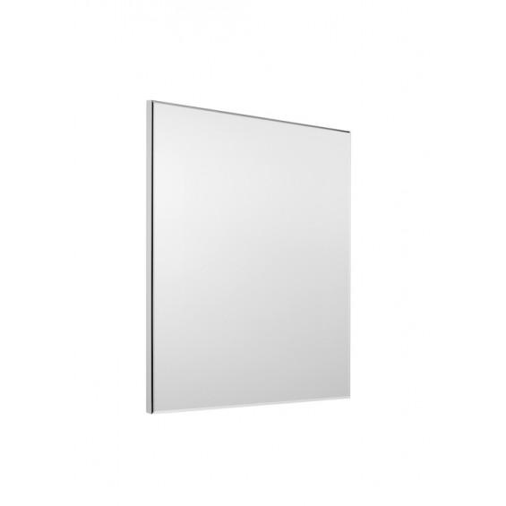 Lustro łazienkowe Roca Suit/Cube 55x60 cm, wykończenie PVC w kolorze szarym A812306406