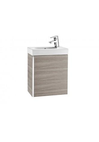 Zestaw łazienkowy Roca Mini 45x25 cm Unik z drzwami (szafka+umywalka), Piasek tekstura A855873156