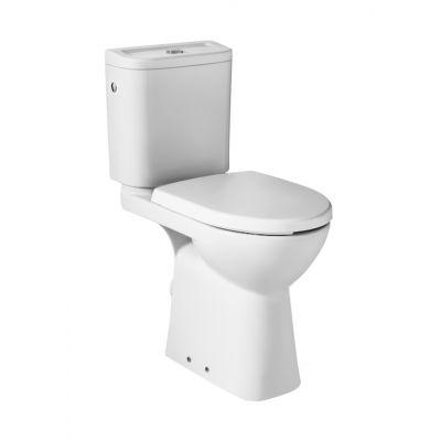 Miska WC (wysokość 48 cm) o/poziomy do kompaktu Roca Dostępna łazienka 38x67 cm, biały A342236000