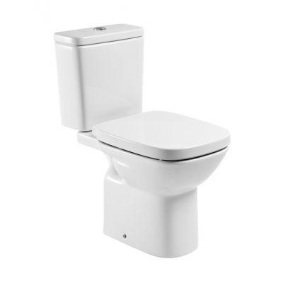 Miska WC o/poziomy do kompaktu WC Roca Debba 35,5x65,5 cm A342997000