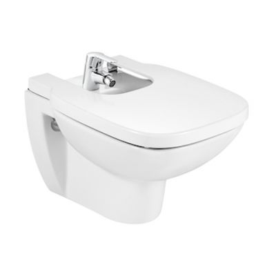 Bidet podwieszany Roca Debba 35,5x54 cm, biały A355995000