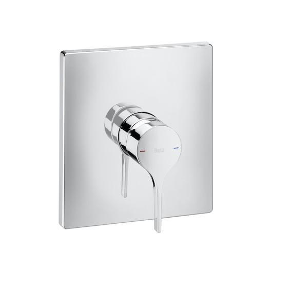 Element zewnętrzny baterii prysznicowej do łączenia z ROCABOX Roca Insignia chrom A5A2B3AC00