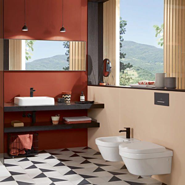 Zdjęcie Miska WC wisząca Villeroy & Boch Architectura 2.0 ukryte mocowania biała 4694R001