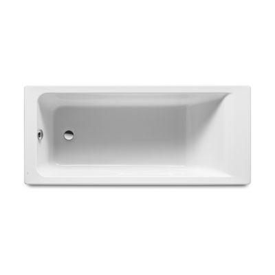 Prostokątna wanna akrylowa Roca Easy 160x75 cm biały A248623000