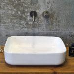 Umywalka nablatowa Aquahome Remira 51x40x13 cm