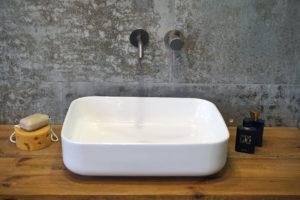 Umywalka nablatowa Aquahome Remira 50x39x14 cm
